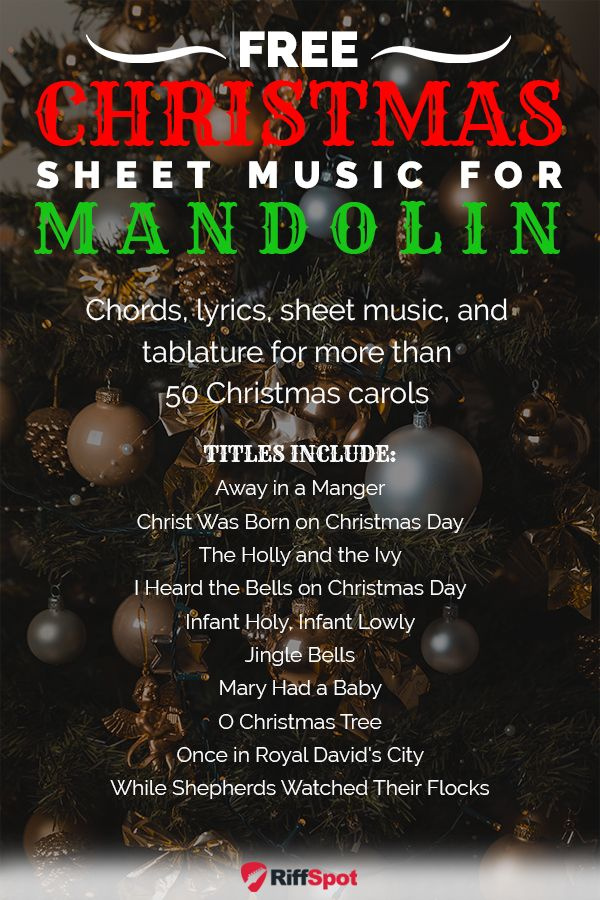 Christmas Music for Mandolin in 2020 Mandolin, Christmas