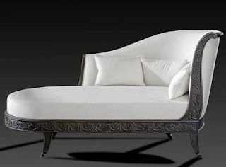 antique french chaise lounge directoire style