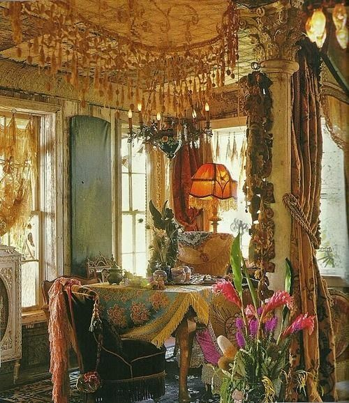 Gypsy Chic decorating is not just about decor. It's definitely a way of thinking and living. Gypsy generally is a combination of bo...