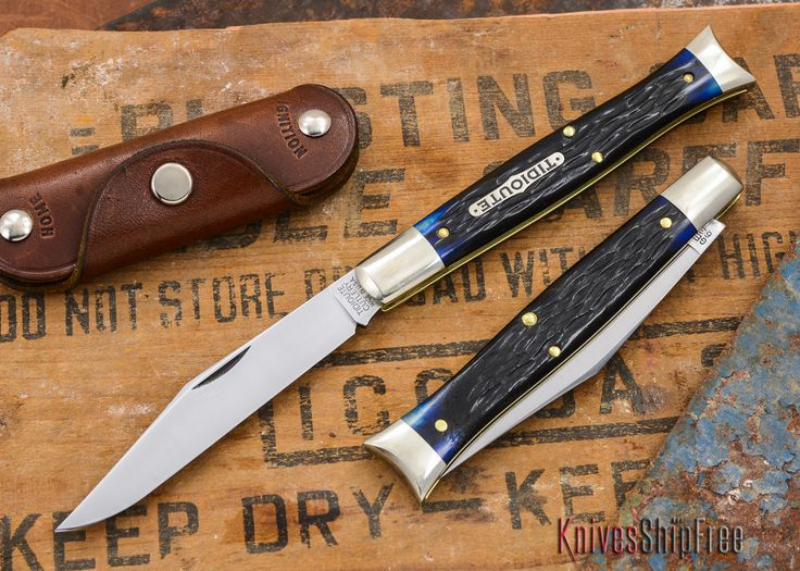 The GREAT EASTERN CUTLERY #63 Tidioute -  Mako - Black Water Jigged Bone, IN STOCK at Knives Ship Free. Great Eastern Cutlery brings 60 years of industry leadership to its products