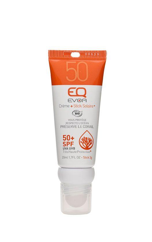 Doux Good - EQ Evoa -COMBI STICK SPF50 - CREME SPF 50