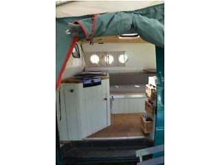 VW T4 Campervan with wood burning stove for sale N70el Picture 6