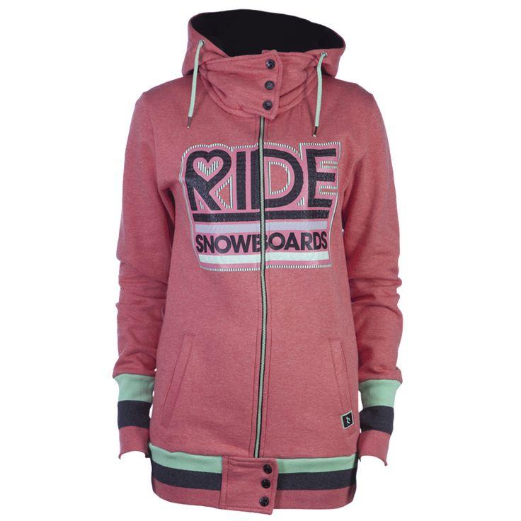 ride snowboard hoodie