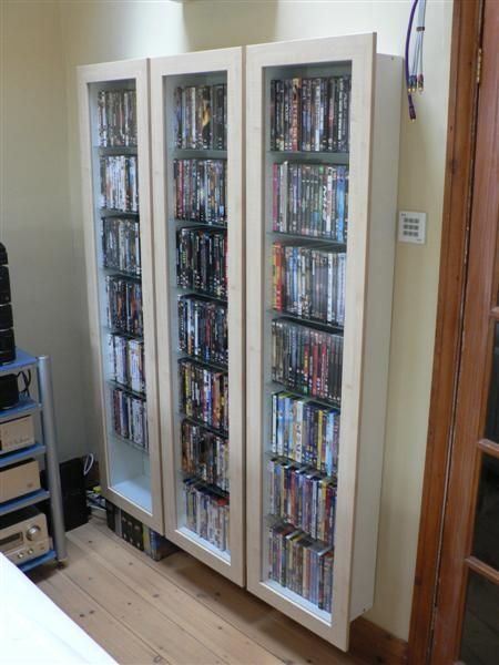 1000 images about dvd cd storage on pinterest wall. Black Bedroom Furniture Sets. Home Design Ideas