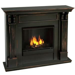 Gel fireplace. Needs no venting, can be used in any room. No need for gas or real wood. So cool!