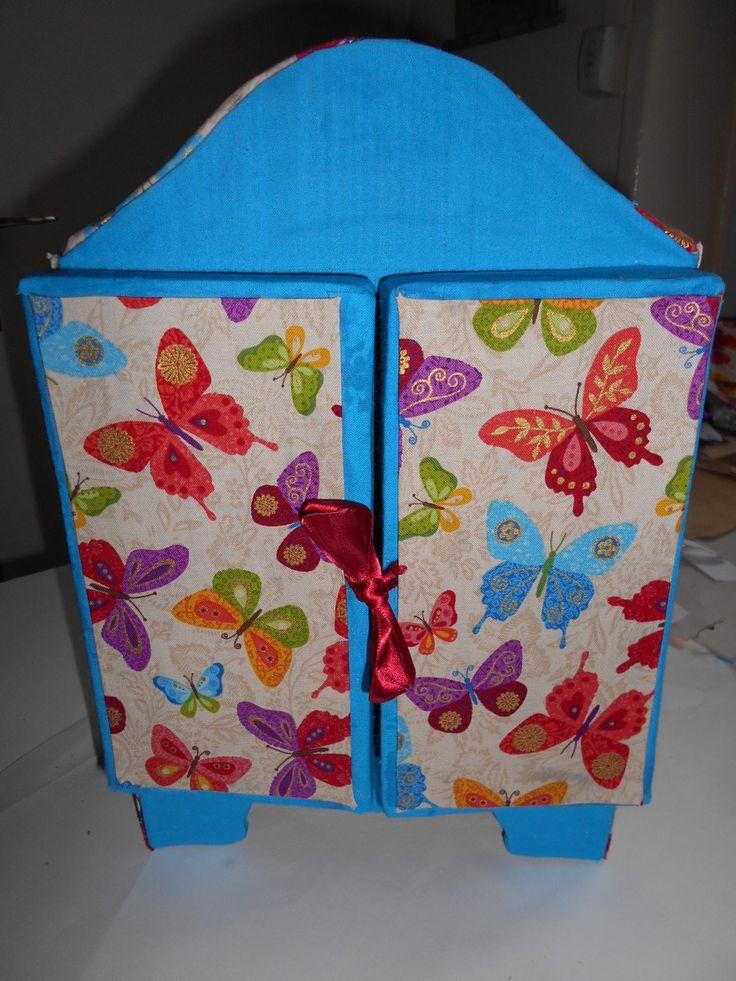 Coffret à bijoux aux motifs de papillons : Presentoir, boîtes par toutankharton36
