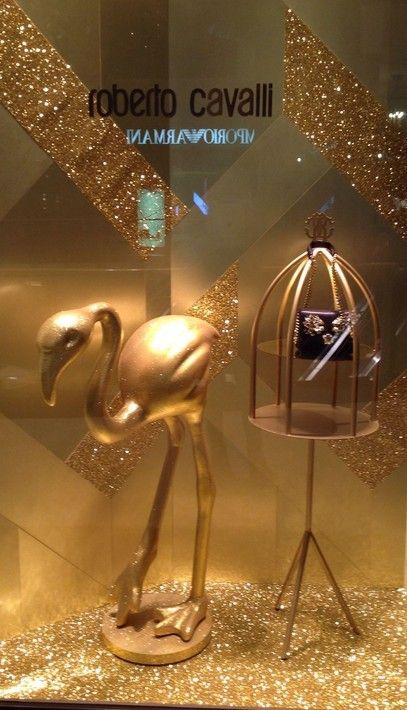 Roberto Cavalli window shop in Dubai mall!