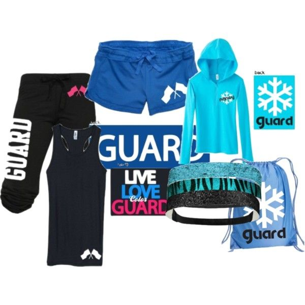 Great set for anyone on flag team or color guard