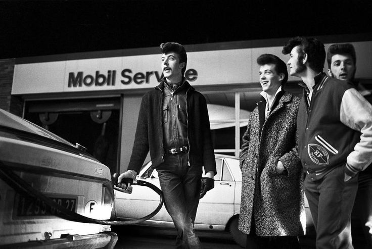 Quiffs, Cars and Kicks: Small Town French Rockabilly Boys Dreaming of America - VICE