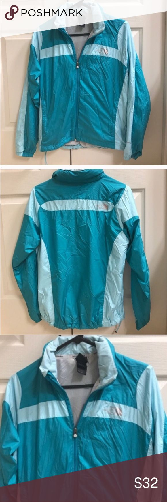North Face blue rain jacket size S Size S North Face blue rain jacket. Blue bag. North Face Jackets & Coats