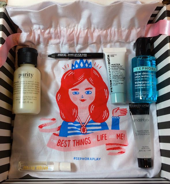 Play! by Sephora Subscription Box Review - April 2017