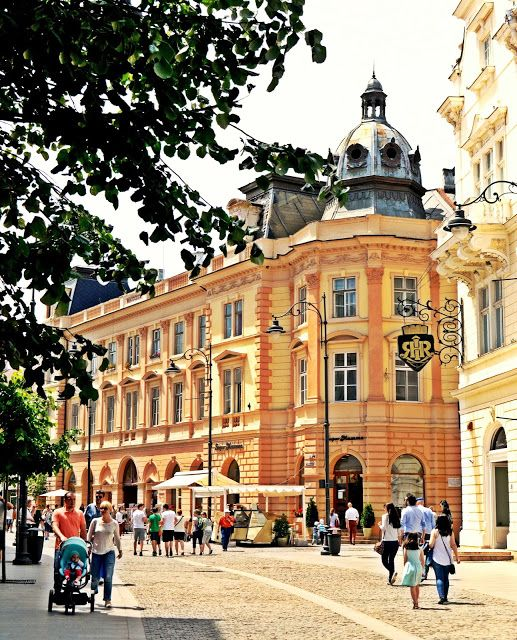 Sibiu - Nicolae Balcescu Street