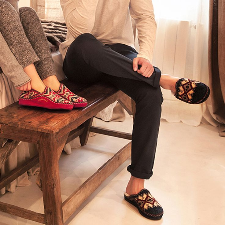 Check out our selection of Nordikas Slippers for men and women. We a wide selection of different colours and styles that come in mules, Velcro, full slippers, leather slippers and bootie slippers to find the perfect pair of slippers for you. All our Nordikas slippers are made in Elche, Spain with soft leathers, flexible soles and comfort that lasts a life time with breathable internal parts.