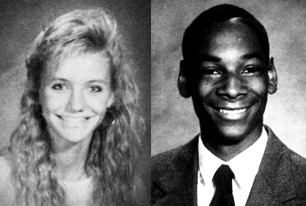 Cameron Diaz in 1988 and Snoop Dogg in 1988 at Long Beach ...