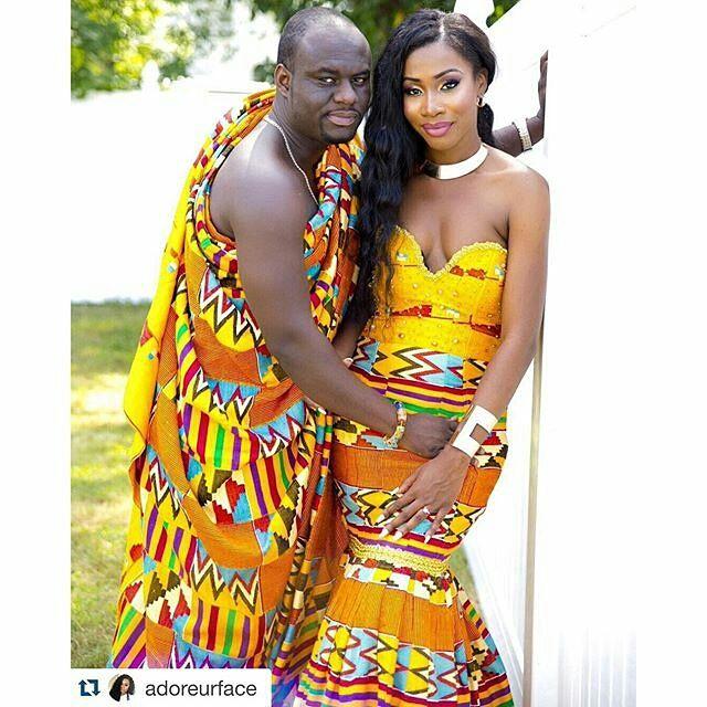 #Kente #Ghana #Togo #African Wedding