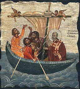 Άγ.Νικόλαος Αρχιεπίσκοπος Μύρων της Λυκίας, ο Θαυματουργός___dec 6   (Icon of St Nicholas`s Miracle