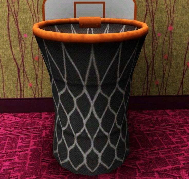 Basketball Goal Clothes Hamper Munchies Room Pinterest