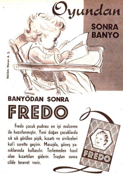 OĞUZ TOPOĞLU : fredo çocuk pudrası 1960 senesi nostaljik eski koz...
