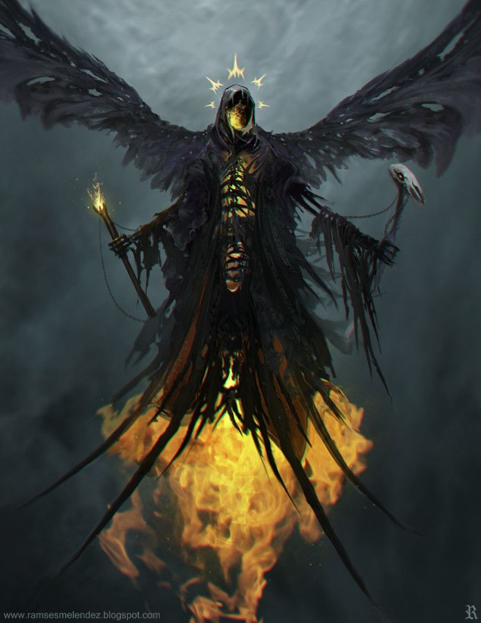 Malphas - fantasy character concept Ramses Melendez