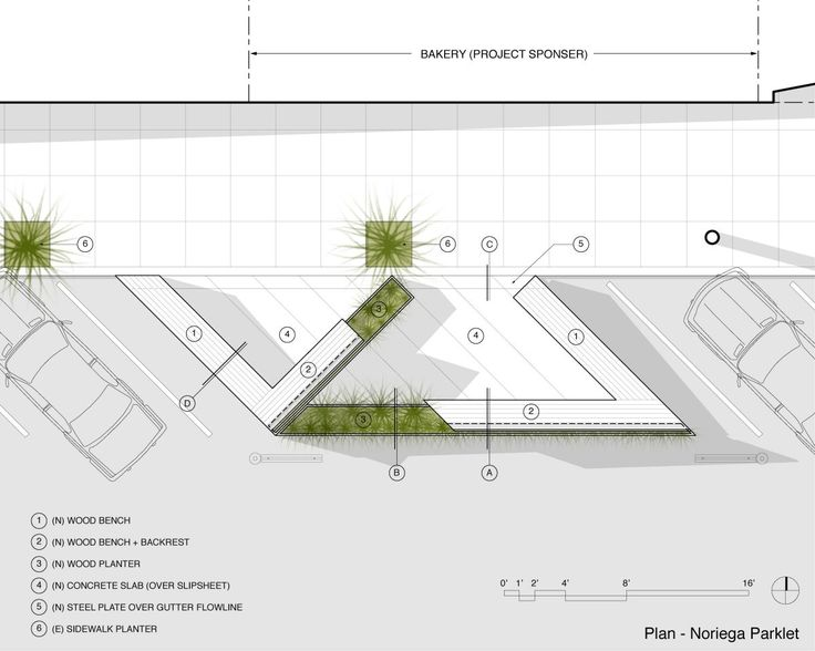 Noriega Street Parklet, San Francisco, California by Matarozzi Pelsinger Design + Build