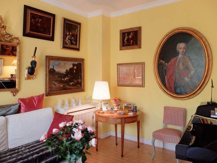 87 besten Wohnideen in Gelb u2022 Living in Yellow Bilder auf - rote kuche gelbe wand