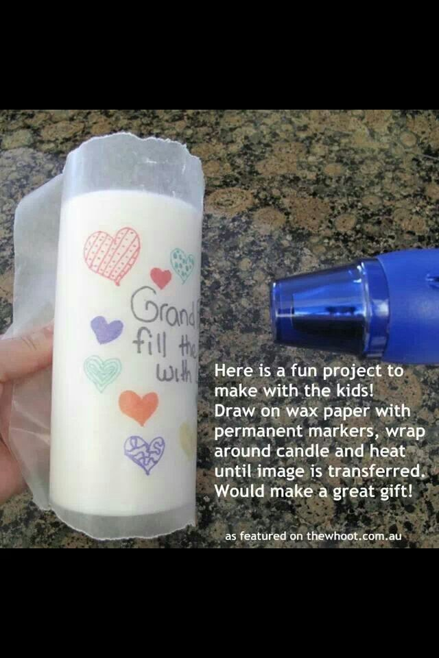 Homemade candle designs - need to do these!