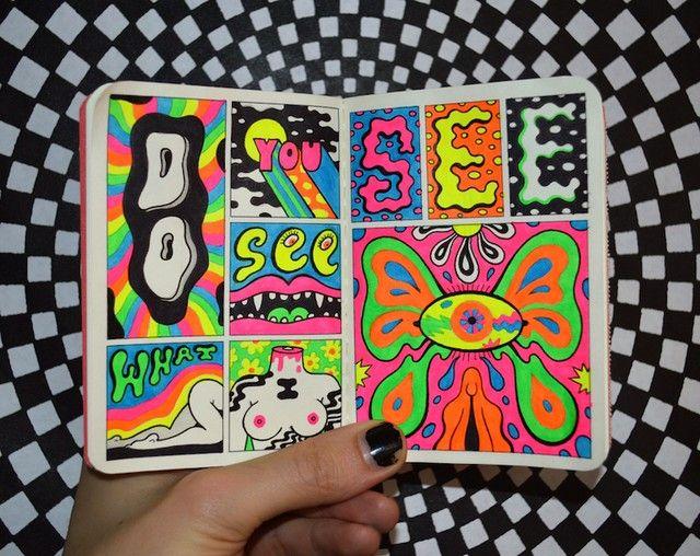 Pin On Paint Marker Art Ideas
