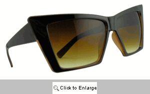 Trek Vintage Angular Sunglasses - 403 Brown Tones