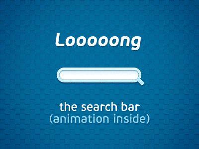 Search box design
