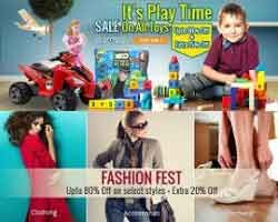 HomeShop18 is offering 20% off on Home & Kitchenware, 15% off on Fashion Jewellery.