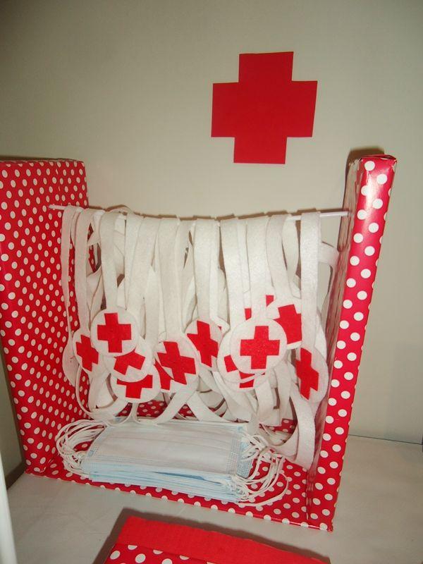 Fiestas de Cumpleaños Doctora Juguetes para pequeños médicos y enfermeras