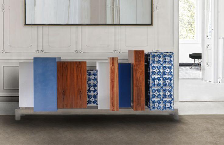 Silhouette, sideboard #bateye #luxuryfurniture #portocollection