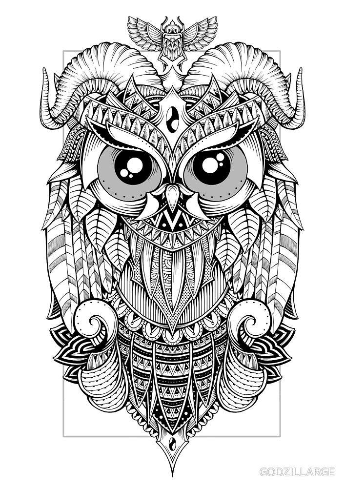 Goat Horned Owl