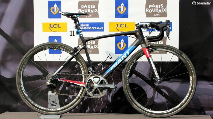 Degenkolb's Pro bike - The Roubaix winning Giant Defy