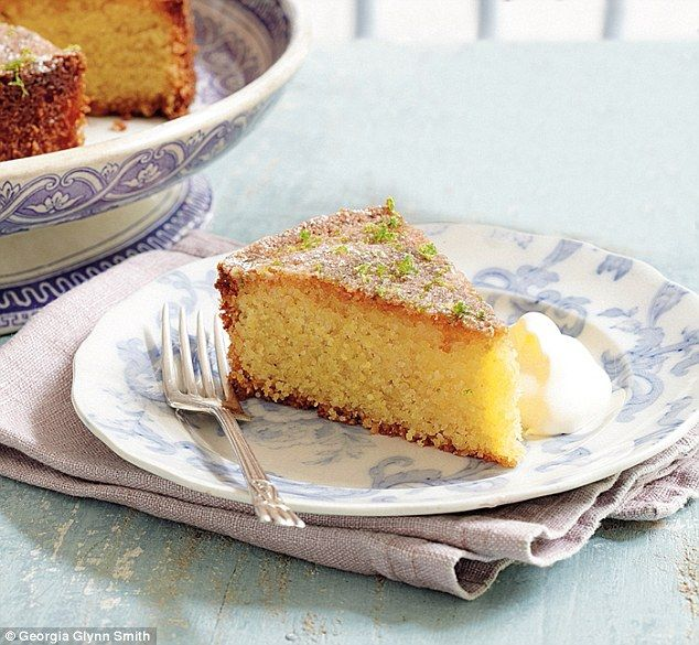 Mary Berry Absolute Favourites Part II: Lime and polenta cake | Daily Mail Online