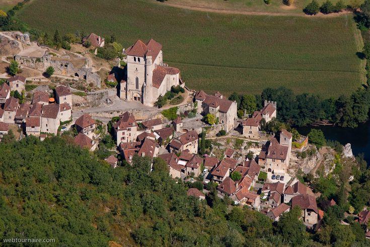 ✈️ Photo aérienne de : Saint-Cirq-Lapopie - Lot (46)