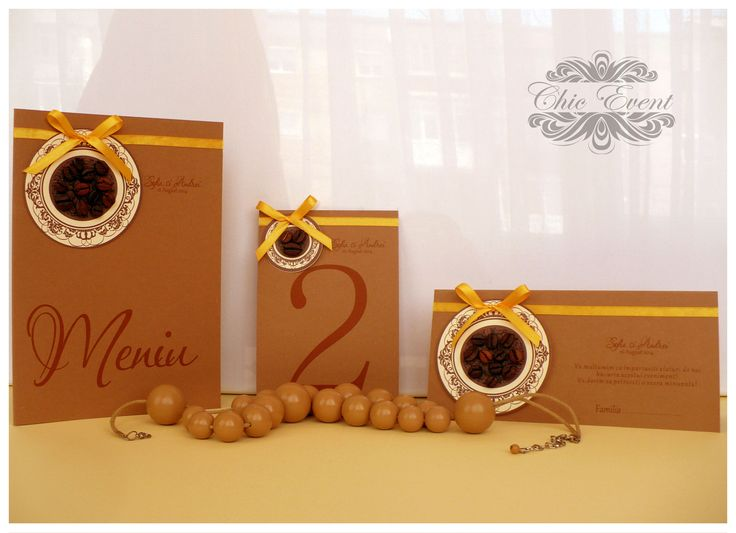 cofee theme for an unic wedding
