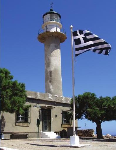 CRETE - Ákra Sideros Lighthouse. Greece