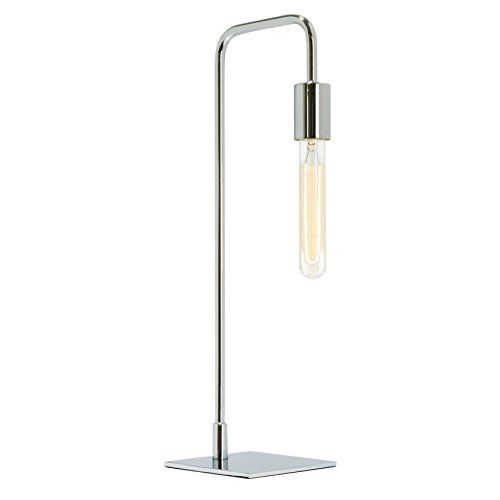 Dimmable Table Lamp Chrome Finish E26 160 Lumens 40w Https Www Amazon Com Dp B06xkfnwxx Ref Cm Sw Gooseneck Floor Lamp Chrome Table Lamp Vintage Bulb