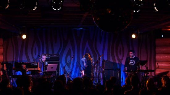 «Chvrches» live for KEXP