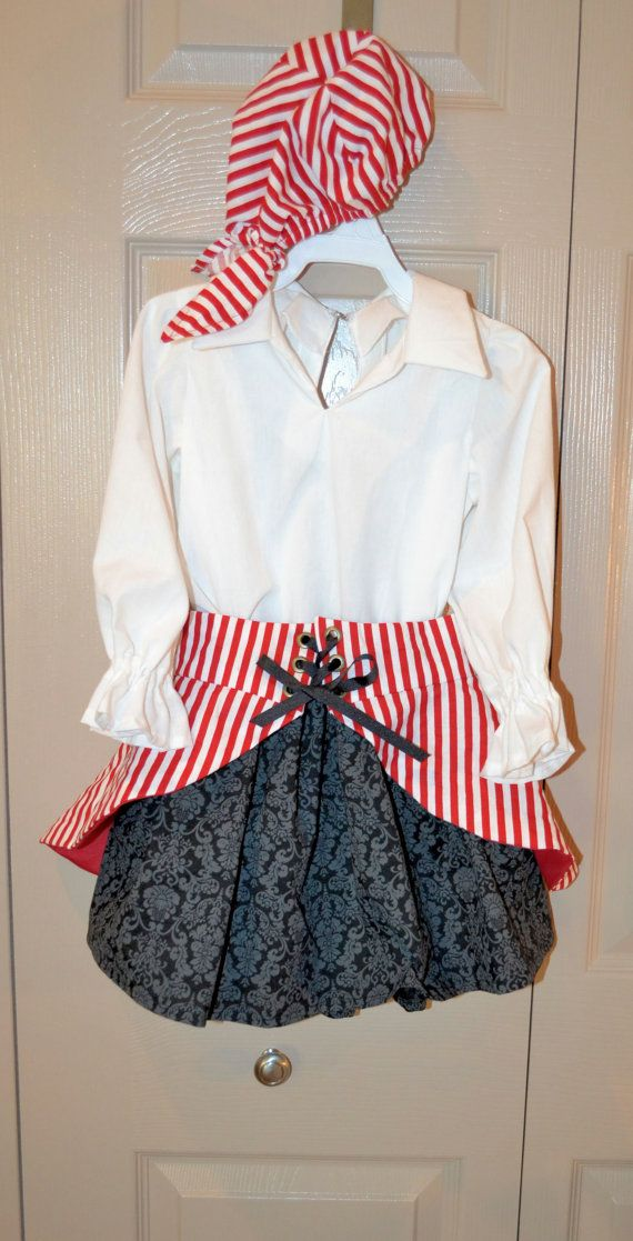 3T/4T Girl's Pirate's Costume, Pirates of the Caribbean, Disney Costume on Etsy, $65.00