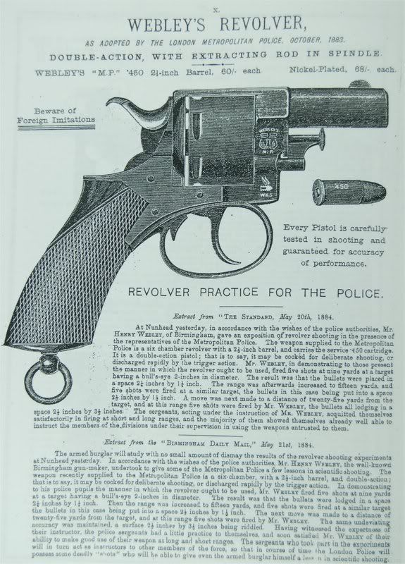 The Webley Metropolitan Police Revolver - Jack The Ripper Forums - Ripperology For The 21st Century