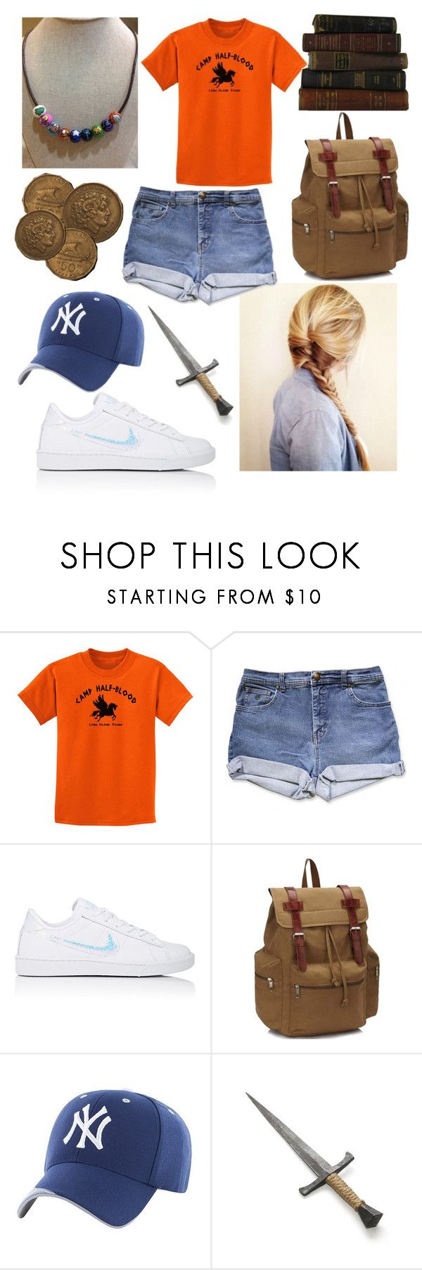 """Annabeth Chase"" by jaydenblue2021 ❤ liked on Polyvore featuring NIKE"