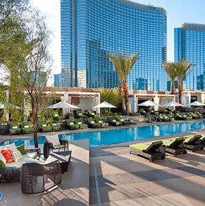 Best Pools in Las Vegas - Articles | Travel + Leisure @Jess Liu Watson @Micah Sargisson Hubbard