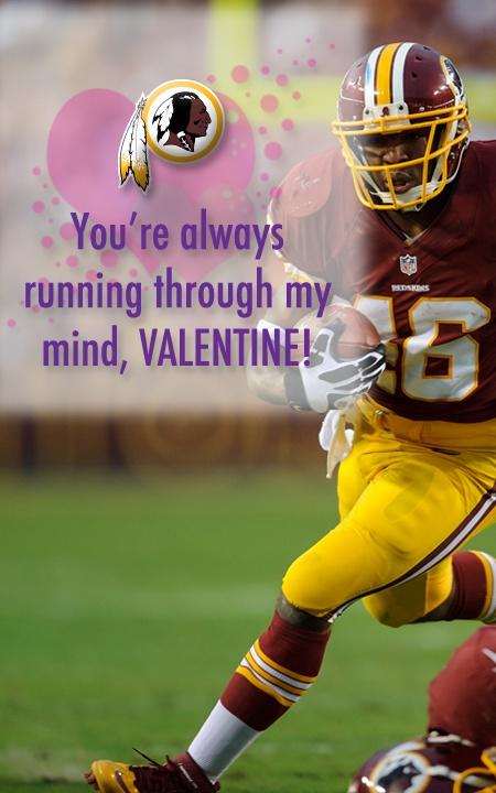 You're always running through my mind, Valentine!