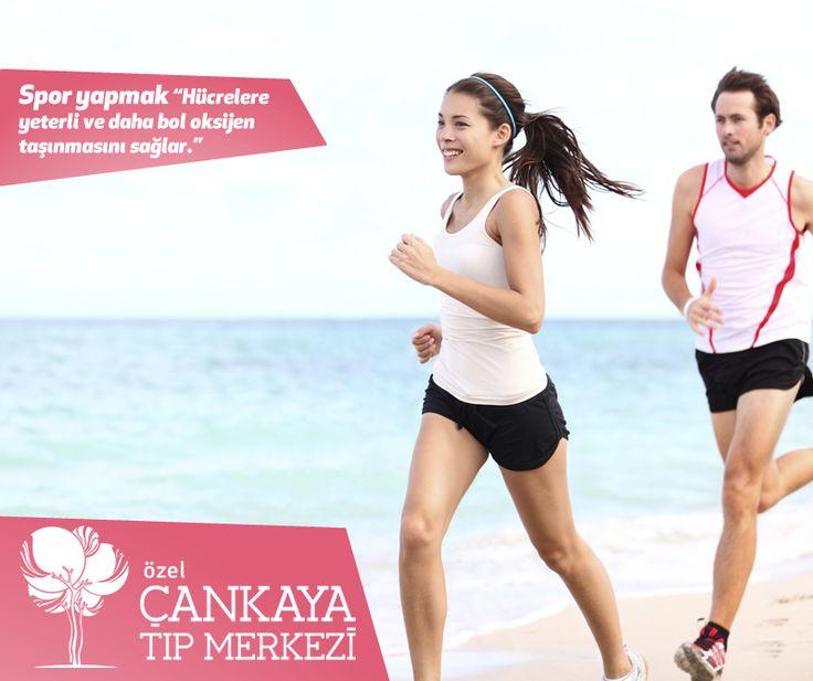 """#Spor yapmak """"Hücrelere yeterli ve daha bol oksijen taşınmasını sağlar."""""""