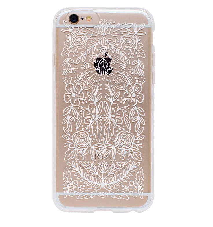 Floral Lace Protective iPhone Cover