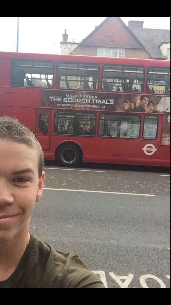 Will Poulter OMG I love this I missed him in the SCORCH TRIALS