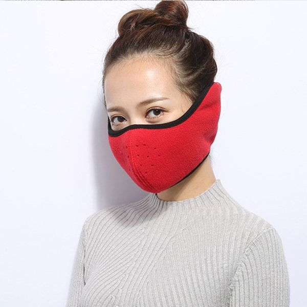 Mens Womens Cotton Solid Reusable Mouth Muffs Mask Multiple Colors Anti Pollution Dustproof Mask