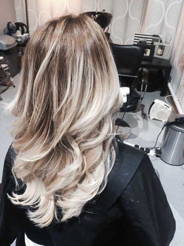 ombre blond polaire couleur tout savoir sur luombr hair with ombre blond polaire elegant ombr. Black Bedroom Furniture Sets. Home Design Ideas